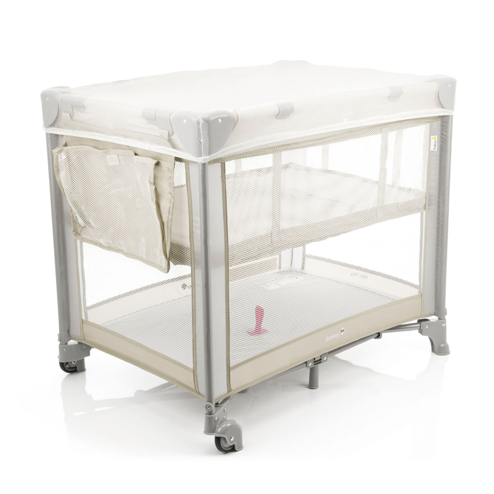 Berço Portátil - Mini Play Pop - Beige - Safety 1st