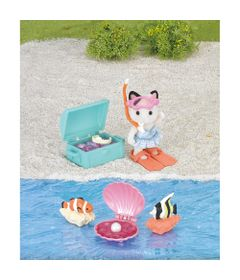Sylvanian-Families---Tesouro-do-Mar---Epoch