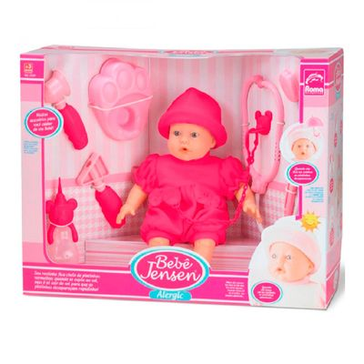 Boneca---Bebe-Alergic-Xixi---31-cm---Pink---Roma-Jensen