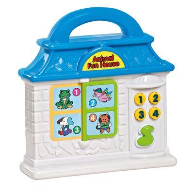 Playset---Bebe-Musical---Animal-Fun-House---Azul---Dican