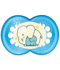 Chupeta-Night-Silk-Touch-Boys---Acima-de-6-Meses---Elefantes---MAM