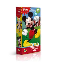 Quebra-Cabeca-Mini---60-Pecas---Disney---A-Casa-do-Mickey-Mouse---Mickey-Mouse---Toyster