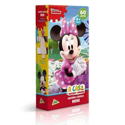 Quebra-Cabeca-Mini---60-Pecas---Disney---A-Casa-do-Mickey-Mouse---Minnie-Mouse---Toyster