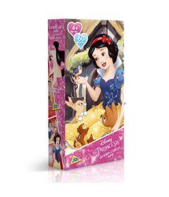 Quebra-Cabeca-Mini---60-Pecas---Disney---Princesas-Disney---Branca-de-Neve---Toyster