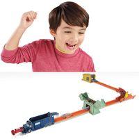 Conjunto-de-Pista-com-Lancador---Hot-Wheels---Assalto-ao-Banco---Mattel