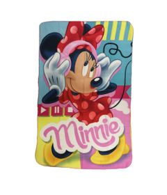 Manta-Estampada-em-Poliester---100-x-150-CM---Disney---Minnie-Mouse---DTC