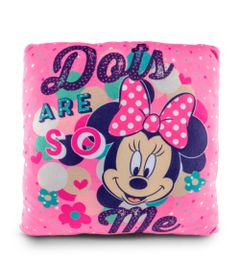 Almofada-Estampada-30x30-Cm---Disney---Minnie-Mouse---DTC