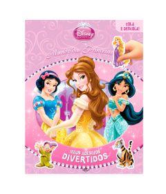 Livro---Meus-Adesivos-Divertidos---Disney-Princesas---DCL