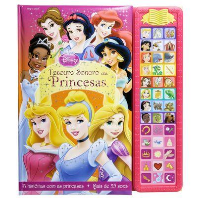 Livro-Musical-Disney---Disney-Princesas---DCL