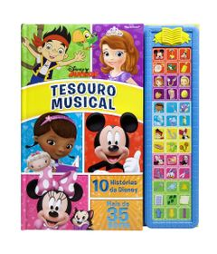 Livro-Musical-Disney---Tesouro-Musical-Disney-Junior---DCL