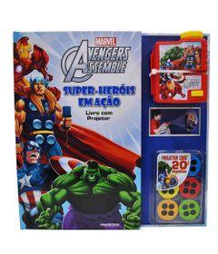 Livro-Disney---Marvel---Avengers---Super-Herois-em-Acao---Melhoramentos