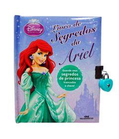 Livro-Disney---Segredos-da-Ariel-com-Chave---Melhoramentos