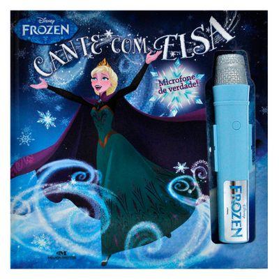 Livro-e-Microfone-Disney---Frozen---Cante-com-Elsa---Melhoramentos