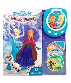 Livro-Music-Player-Disney---Frozen---DCL