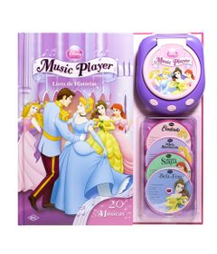 Livro-Music-Player-Disney---Princesas-Disney---DCL