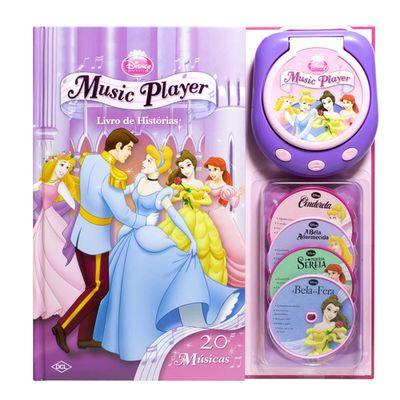 Livro-Music-Player-Disney---Princesas-Disney---DCL