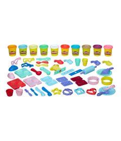 Conjunto-Massa-de-Modelar---Play-Doh---Sobremesas-Completas---Hasbro-B6379-frente