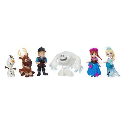 Conjunto-Mini-Bonecos-Colecionaveis---6-unidades---Disney---Frozen---Hasbro-C1118-frente