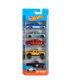 Carrinhos-Hot-Wheels---Pacote-com-5-Carros---Hot-Trucks---Mattel