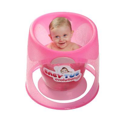 Banheira-Babytub-Evolution---Rosa---Baby-Tub-BBT153-humanizada