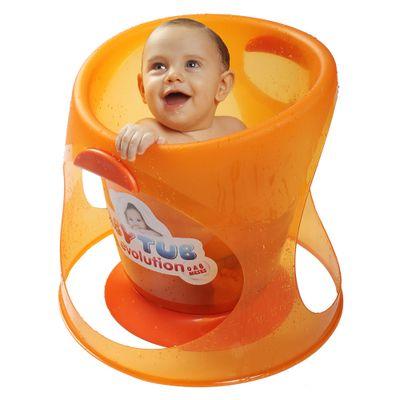 Banheira-Babytub-Evolution---Laranja---Baby-Tub-BBT154-humanizada