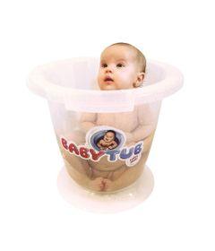 Banheira-Babytub---Transparente---Baby-Tub-BT1200-humanizada