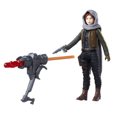 Figura-Articulada---Star-Wars---10-cm---Rogue-One---Jyn-Erso-Jedha---Disney---Hasbro
