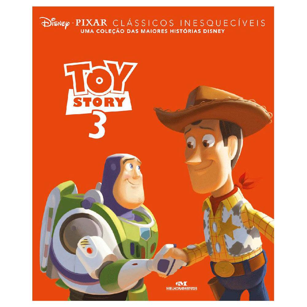 Livro Disney - Clássicos Inesquecíveis - Toy Story 3 - Melhoramentos