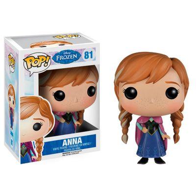 Figura-Colecionavel---Funko-POP---Disney---Frozen---Princesa-Anna---Funko