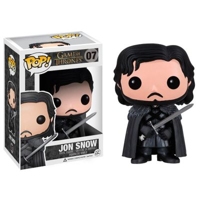 Figura-Colecionavel---Funko-POP---Game-Of-Thrones---Jon-Snow---Funko