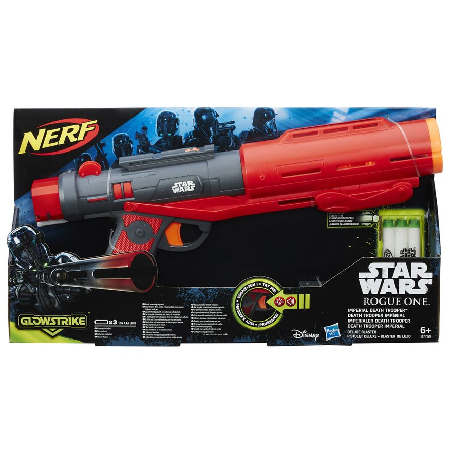 Lancador-Eletronico-Nerf-Star-Wars---Rogue-One---Imperial-Death-Trooper---Deluxe---Hasbro