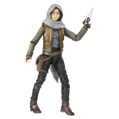 Figura-Colecionavel-Star-Wars---Rogue-One---The-Black-Series---14-cm---Sergeant-Jyn-Erso-Jedha---Hasbro---Disney