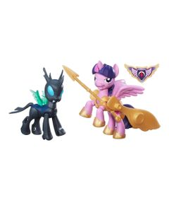 Figuras-My-Little-Pony---Bem-vs-Mal---Twilight-Sparkle-e-Changeling---Hasbro-frente1