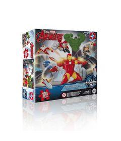Quebra-Cabeca-3D---Marvel-Avengers---Estrela