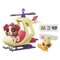 Mini-Boneca-com-Veiculo---Littlest-Pet-Shop---Passeios-na-Cidade---Bigley-Bernie-e-Pixie-Petite---Hasbro