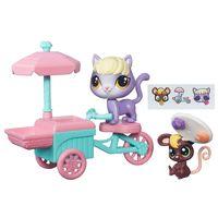Mini-Boneca-com-Veiculo---Littlest-Pet-Shop---Passeios-na-Cidade---Trixie-Squeakerville-e-Delilah-Barnsley---Hasbro
