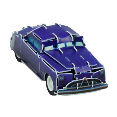 Quebra-Cabeca-3D---Disney---Carros---Doc-Hudson---DTC