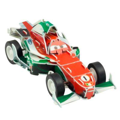 Quebra-Cabeca-3D---Disney---Carros---Francesco---DTC