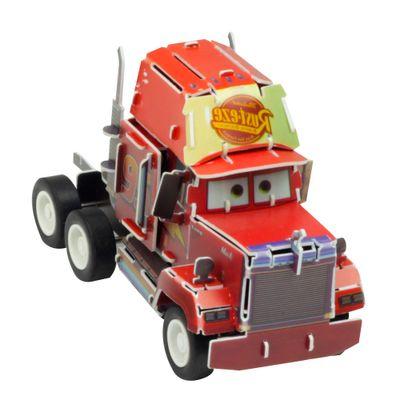 Quebra-Cabeca-3D---Disney---Carros---Mack---DTC