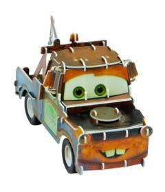 Quebra-Cabeca-3D---Disney---Carros---Mate---DTC