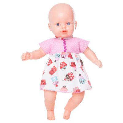 Boneca-Nina---Vestido-Rosa-com-Docinhos---Estrela