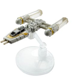 Nave-Hot-Wheels---Star-Wars---Rogue-One---Y-Wing-Fighter-Gold-Leader---Mattel