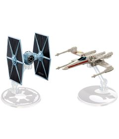 Nave-Hot-Wheels---Star-Wars---Tie-Fighter-VS-X-Wing-Fighter-Red-Two---Mattel