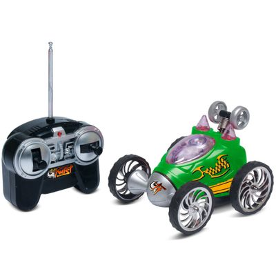 Carrinho-de-Controle-Remoto---RC-Turbo-Twist---Verde---DTC