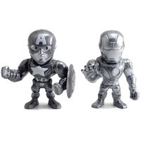 Figuras-Colecionaveis-10-Cm---Metals---Disney---Marvel---Civil-War---Capitao-America-e-Iron-Man---DTC
