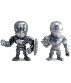 Figuras-Colecionaveis-10-Cm---Metals---Disney---Marvel---Civil-War---Capitao-America-e-Iron-Man---DTC