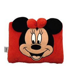 Almofada-Multi-Funcao---Disney---Minnie-Mouse---Vermelha---Taimes
