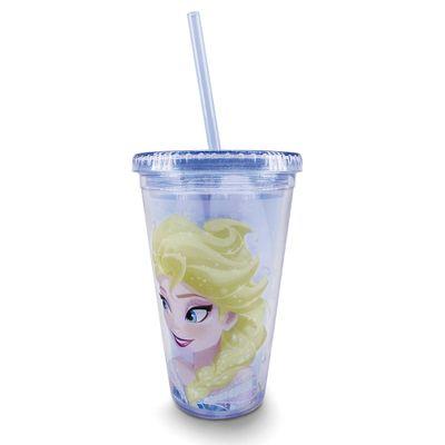 Copo-com-Canudo---Disney---Frozen---Elsa---Taimes