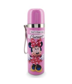 Garrafa-Termica---500ml---Disney---Minnie-Mouse---Taimes