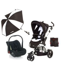 Travel-System-com-Adaptador---3-Tec-Phantom-e-Guarda-Sol-Sunny---ABC-Design